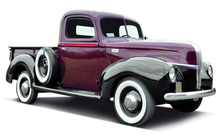 Ford pick up 41